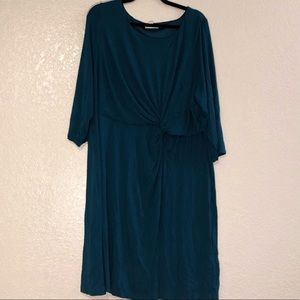 Soft Wrap-Around Dress